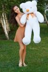 купить Мишка Тедди 120 см Белый цена, отзывы