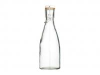 купить HM Бутылка стеклянная с керамической пробкой и зажимом 450 мл (23,5 см) цена, отзывы
