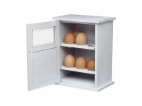 купить HM Шкаф для хранения 12 яиц деревянный белый 26 см х 19,5 см х 7 см цена, отзывы