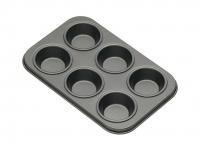 купить KC NS Формы для выпечки мини кексов 6 отверстий с антипригарным покрытием 15 см х 10 см 2 единицы цена, отзывы