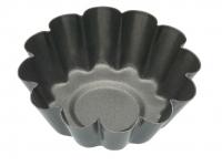 купить KC NS Формы для выпечки мини Корзинки рифленые с антипригарным покрытием 6см 4 единицы цена, отзывы