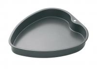 купить MC NS Форма для выпечки пирога Сердце с антипригарным покрытием 26см х 24см цена, отзывы