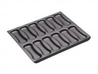 купить MC NS Форма для выпечки эклеров с антипригарным покрытием (12 отверстий) 31см х 25,5см цена, отзывы