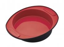 купить MC SS Форма для выпечки пирога круглая силиконовая 20,5см цена, отзывы