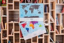 купить Скретч карта мира Travel Maps Silver цена, отзывы