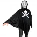 купить Взрослый карнавальный плащ Роджер с маской цена, отзывы