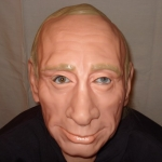 купить Маска резиновая Путин цена, отзывы