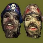 купить Латексная маска Пираты цена, отзывы