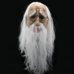 купить Латексная маска Старик с волосами цена, отзывы