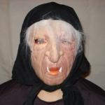 купить Резиновая маска Баба Яга цена, отзывы