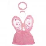 купить Детский карнавальный костюм Ангел с юбкой цена, отзывы