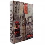 купить Книга-сейф Кожаная большая Лондон 33 см цена, отзывы