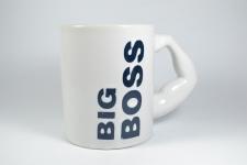 купить Чашка белая Большой Босс цена, отзывы