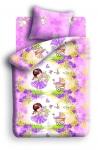 купить Постельное белье детское полуторное Колыбельная мечты Девочка и зайчик цена, отзывы