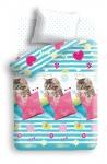 купить Постельное белье детское полуторное Колыбельная мечты Котик цена, отзывы