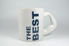 купить Чашка белая The Best  цена, отзывы