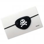 купить Кожаная повязка пирата на глаз цена, отзывы