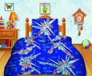 купить Комплект постельного белья полуторный Кошки-мышки Трансформеры цена, отзывы