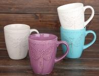 купить Чашка керамическая Стрекоза цена, отзывы