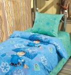 купить Комплект постельного белья полуторный Маша и Медведь Снегурочка цена, отзывы
