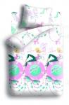 купить Комплект постельного белья полуторный Winx Fairy Couture Vinyl цена, отзывы