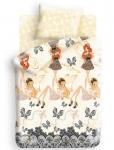 купить Комплект постельного белья полуторный Winx Fairy Couture Fairy цена, отзывы