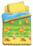 купить Постельное белье для детей в детскую кроватку Непоседа Энималс цена, отзывы