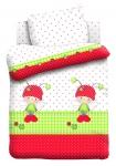 купить Постельное белье для детей в детскую кроватку Непоседа Божья коровка цена, отзывы
