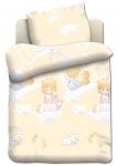 купить Постельное белье для детей в детскую кроватку Непоседа Ангелочки цена, отзывы