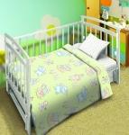 купить Комплект постельного белья детский Мой ангел Малыши цена, отзывы