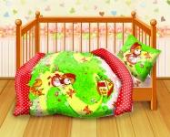 купить Комплект постельного белья детский Кошки-мышки Красная шапочка цена, отзывы
