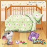 купить Комплект постельного белья детский Кошки-мышки Малыши цена, отзывы