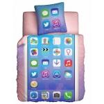купить Постельное белье полуторное Unison Teens Glamour Phone цена, отзывы