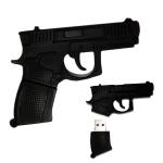 купить Флешка 16 Gb силиконовая Пистолет цена, отзывы