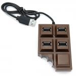купить Хаб USB Шоколадка цена, отзывы