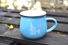 купить Чашка кувшин Голубая City Zakka  цена, отзывы