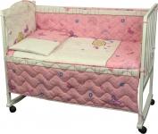 купить Набор постельного белья в детскую кроватку цена, отзывы
