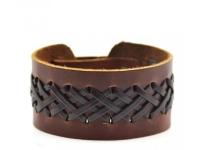 купить Кожаный браслет Ansel цена, отзывы
