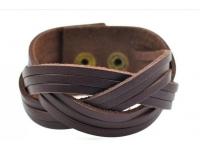 купить Антический кожаный браслет Benedict цена, отзывы