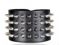 купить Антический кожаный браслет Spine цена, отзывы