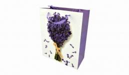 купить Подарочный пакет Цветы 30 см цена, отзывы