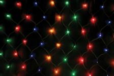 купить Гирлянда сетка 240 LED синяя цена, отзывы