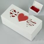 купить Деревянная шкатулка Три сердца цена, отзывы