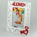 купить Деревянная фоторамка Love цена, отзывы