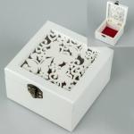купить Деревянная шкатулка Бабочки мини цена, отзывы