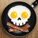 купить Форма для жарки яиц череп цена, отзывы