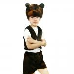 купить Детский костюм меховой Медведь цена, отзывы