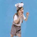 купить Детский костюм меховой Волк  цена, отзывы
