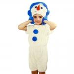 купить Детский костюм меховой Снеговик цена, отзывы