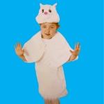 купить Детский костюм меховой Кошка цена, отзывы
